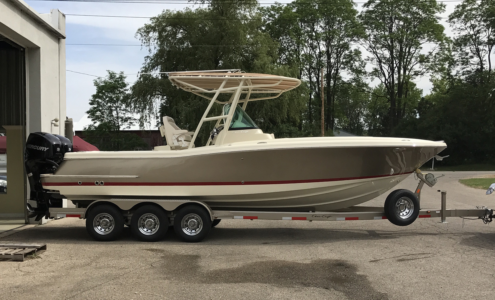 Chris Craft Boat Trailer